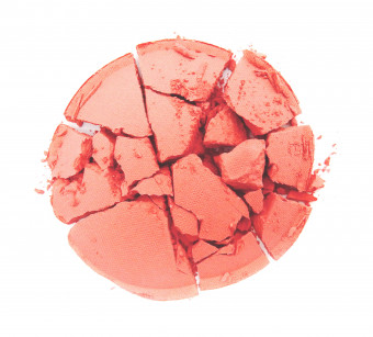 W7 Candy Blush Sweet Cheeks Blusher Galactic
