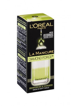 L'Oreal La Mani Diamond Force Power Serum & Base Coat Nail Polish