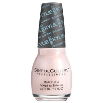 Sinful Colors Kylie Jenner Trend Matters Satin Nail Polish Kitty Pink