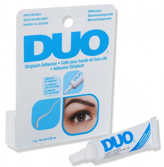 Ardell Duo Striplash Adhesive White/Clear