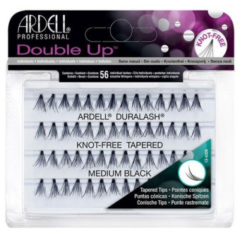 Ardell Duralash Double Up Soft Touch Individuals Medium Black