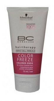 SCHWARZKOPF PROFESSIONAL BC COLOR FREEZE COLORED ENDS HAIR-THERAPY 75ML