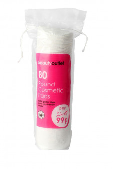 Beauty Outlet 80 Cosmetic Pads