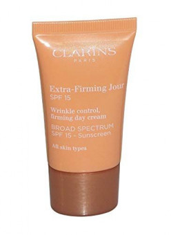 Clarins Extra-Firming  Jour Broad Spectrum SPF 15 Wrinkle Control Firming Day Cream 15ml