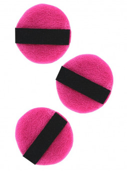 Elite Beauty Mini Velour Make-up Puffs