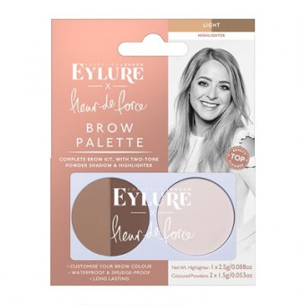 Eylure Brow Palette Fleur de Force Light
