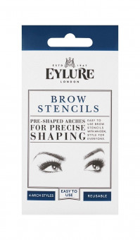 Eylure Brow Stencils Pre Shaped Arches- 4 Arch Styles