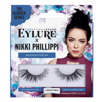 Eylure Nikki Phillippi Midnight Meow Lashes