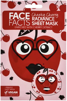 Face Facts Cheeky Cherry Radiance Sheet Mask