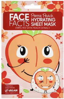 Face Facts Pretty Peach Hydrating Sheet Mask