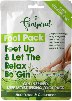 Ginspired Footpacks Elderflower & Cucumber