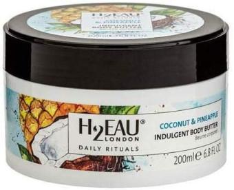 H2Eau Body Butter Coconut & Pineapple 200ml