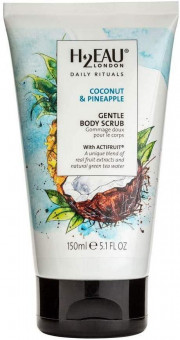 H2Eau Body Scrub Coconut & Pineapple 150ml