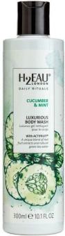 H2Eau Body Wash Cucumber & Mint 300ml