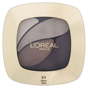 L'Oreal Quad Color Riche Smoky Eyeshadow Marron Glace