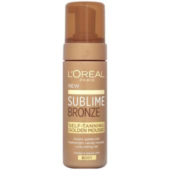 LOreal Sublime Bronze Golden Mousse
