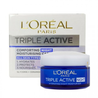L'Oreal Triple Active Comforting Night Cream
