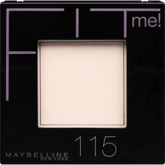 Maybelline Fit Me Set & Smooth Pressed Powder 115 Ivory