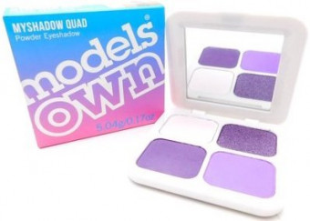 Models Own Myshadow Quad Powder Eyeshadow 04 Lavender Love