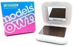 Models Own Myshadow Shimmer Powder Eyeshadow 16 Black Chocolate