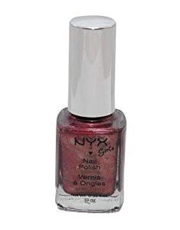 NYX Girls Nail Polish Red Bean Slush