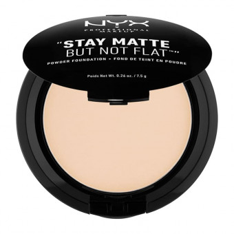 NYX Stay Matte But Not Flat Powder Foundation Nude