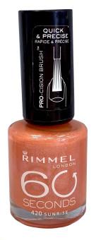 Rimmel 60 Seconds Nail Polish 420 Sunrise
