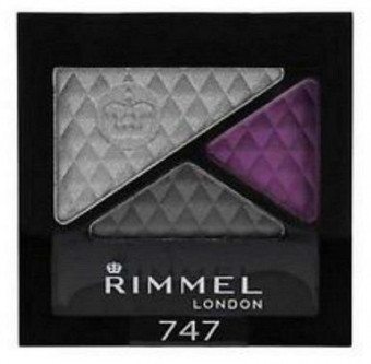 Rimmel Glam Eyes Trio Eyeshadow 747 Dark Angel