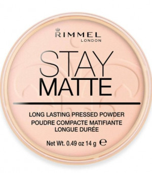 Rimmel Stay Matte Long Lasting Pressed Powder 002 Pink Blossom