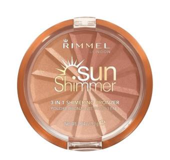 Rimmel Sunshimmer 3 in 1 Shimmering Bronzer