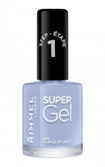 Rimmel Super Gel Nail Polish 082 Purple Splash