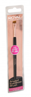 Royal Cosmetics Angled Eyebrow Brush Beauty outlet Rose gold