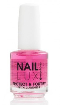 Salon System Nail Lux Protect & Fortify With Diamonds