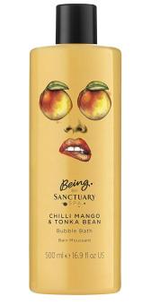 Sanctuary Spa Chilli Mango & Tonka Bean Bubble Bath
