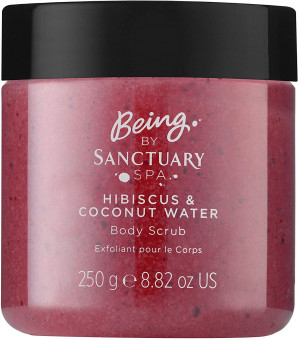 Sanctuary Spa Hibiscus & Coconut Water Body Scrub
