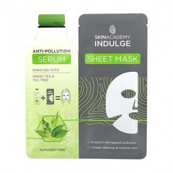 Skin Academy Anti-Pollution Serum Sheet Mask
