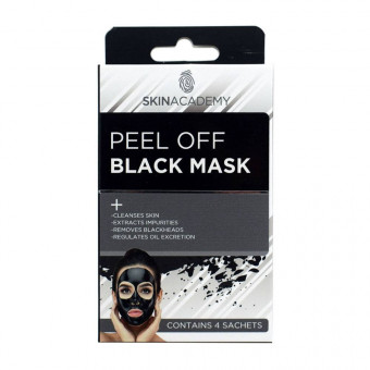 Skin Academy Peel Off Black Mask