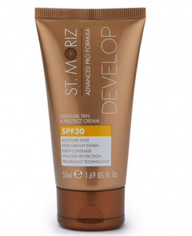 St Moriz Advanced Pro Gradual Tan & Protect Cream 50ml