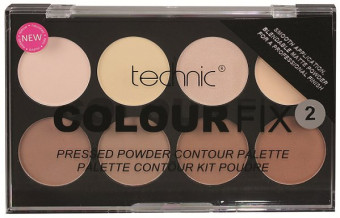 Technic Colour Fix Pressed Powder Contouring Palette 2