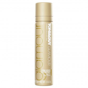 Toni & Guy Glamour Firm Hold Hairspray 75ml