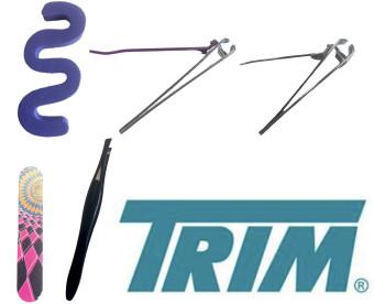 Trim Pedicure Set Purple