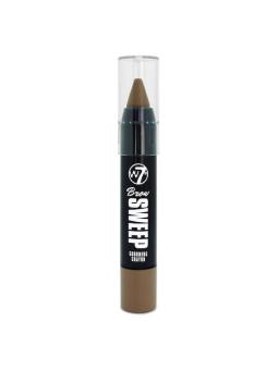W7 Brow Sweep Grooming Crayon Light Brown
