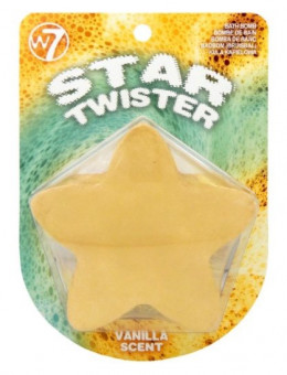 W7 Star Twister Bath Bomb Gold Vanilla Scent