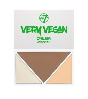 W7 Very Vegan Cream Contour Kit Fair/Light