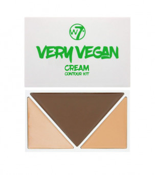 W7 Very Vegan Cream Contour Kit Medium/Tan