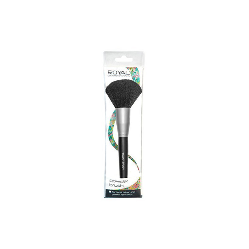 Royal Cosmetics Powder Brush Beauty outlet Silver white priced