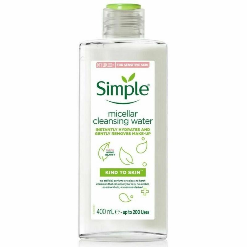 Simple Micellar Cleansing Water 400ml