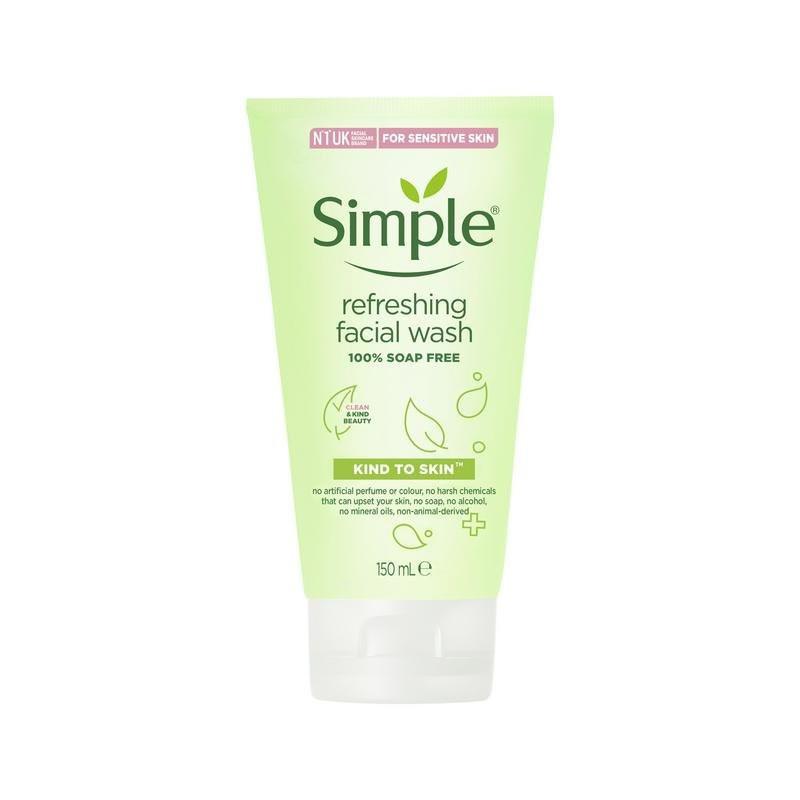 Simple Refreshing Facial Wash 150ml
